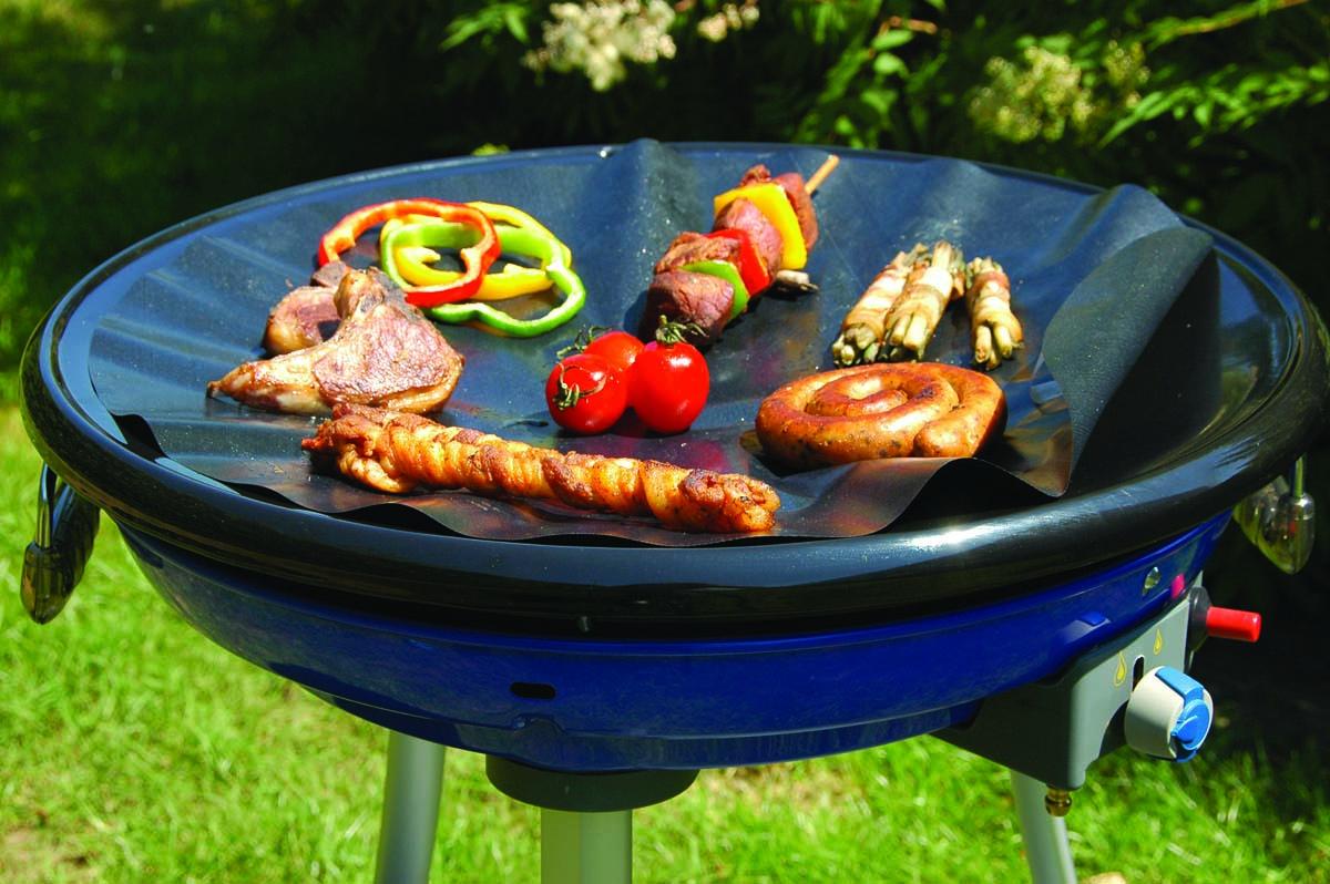 No Stik, foglio antiaderente per cottura con il barbecue