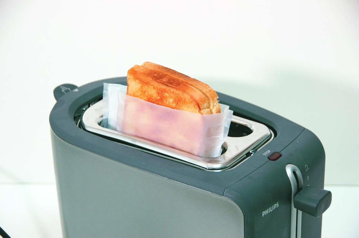 No Stik, foglio antiaderente per tostapane